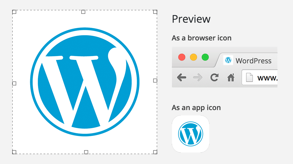 New Site Icons feature - WordPress.org